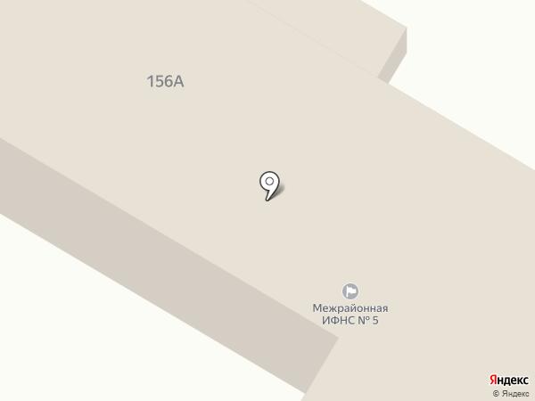Межрайонная инспекция Федеральной налоговой службы России №5 по Ставропольскому краю на карте Михайловска