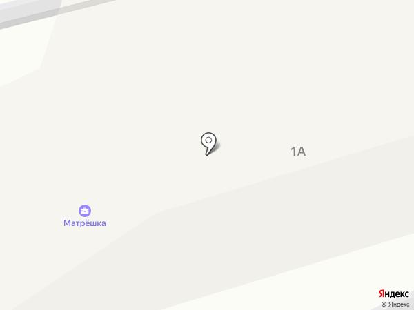 Матрешка на карте Ставрополя