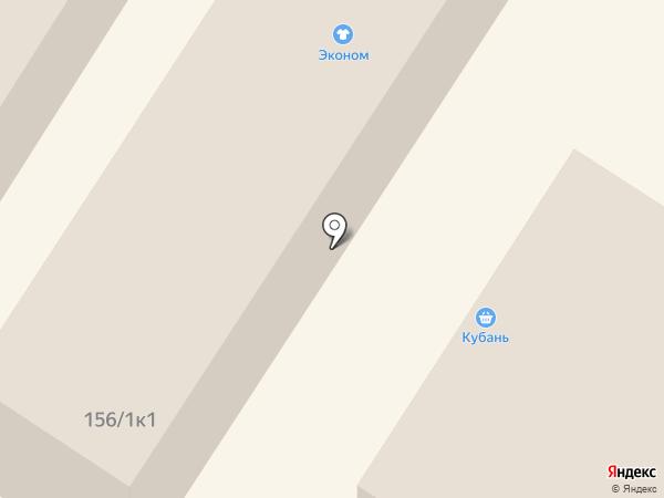 Славяночка на карте Михайловска