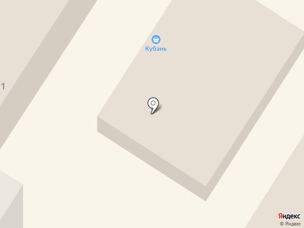 Клубничка на карте Михайловска