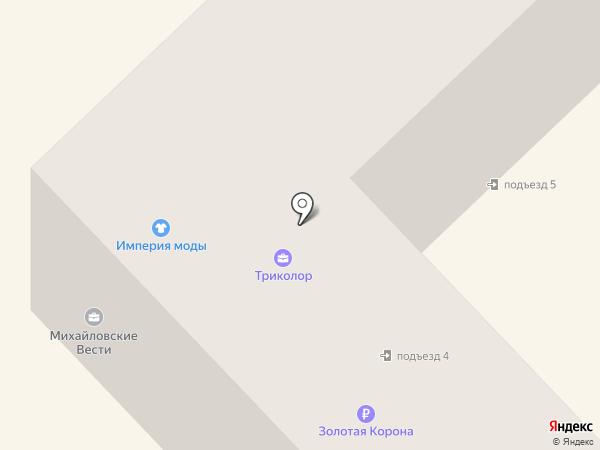 Михайловские вести на карте Михайловска
