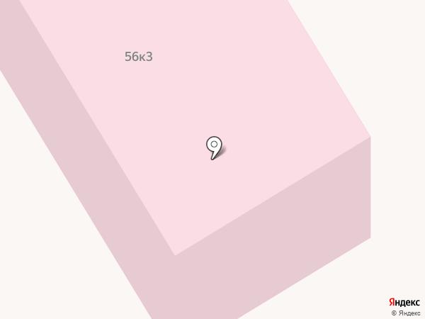 Краевой клинический противотуберкулезный диспансер на карте Ставрополя