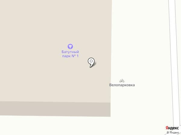 Москвич на карте Ставрополя