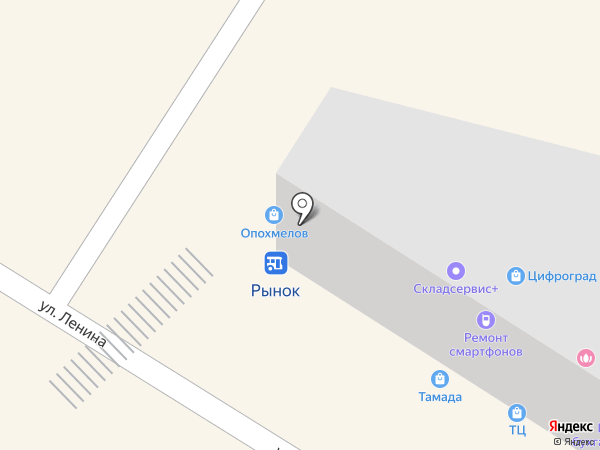 Пивная лавка на карте Михайловска