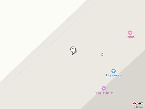 Мальвина на карте Михайловска