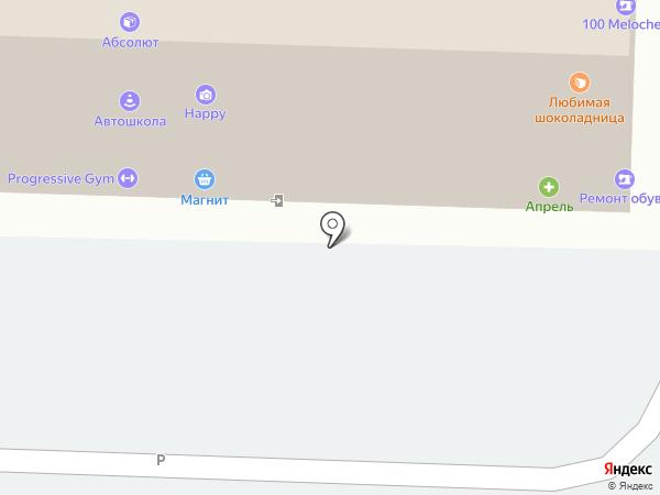 Магазин горячего хлеба на карте Ставрополя