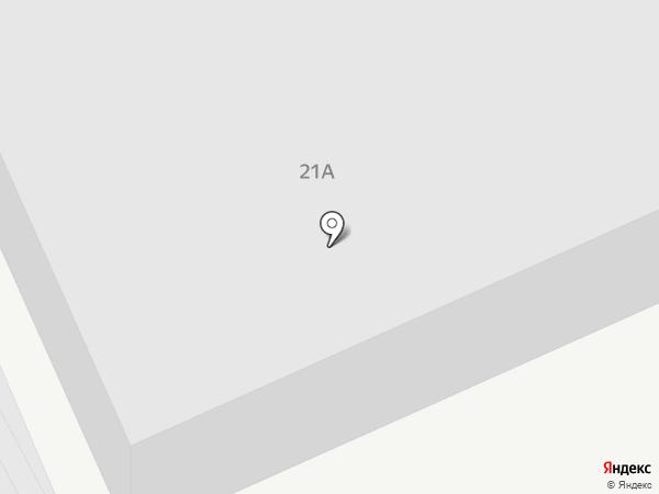 Фаэтон на карте Ставрополя