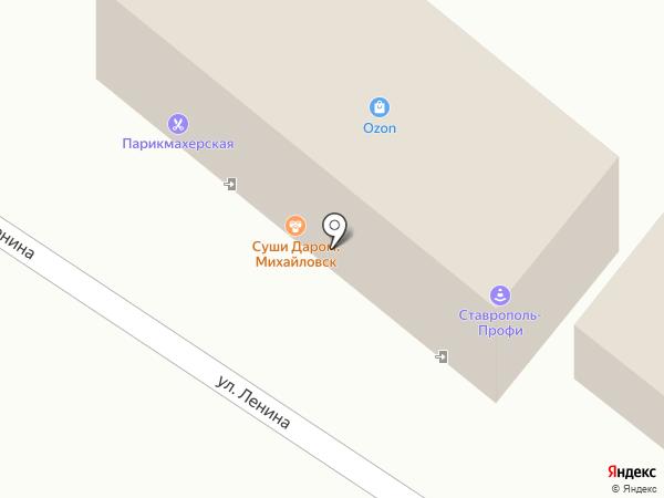 АСТРА на карте Михайловска