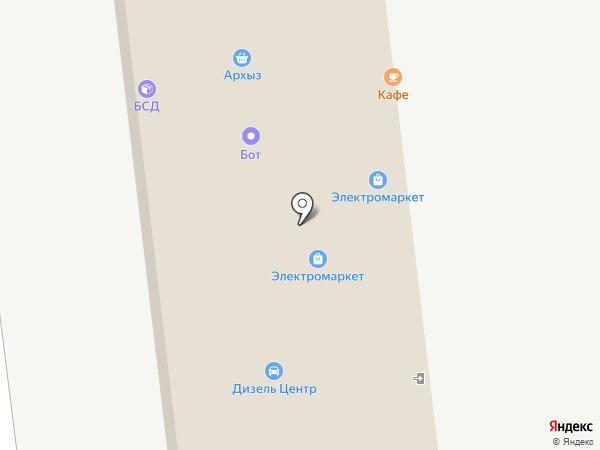Ставкоопторг на карте Ставрополя