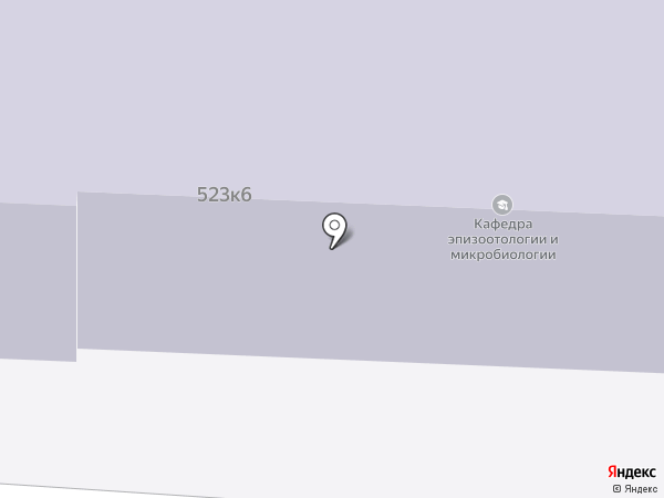 СтГАУ на карте Ставрополя