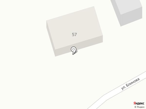 Настенька на карте Михайловска