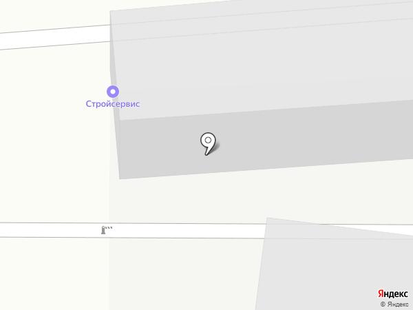 РОВЕН-Ставрополь на карте Ставрополя