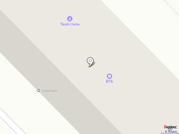 Багетный Двор на карте Михайловска