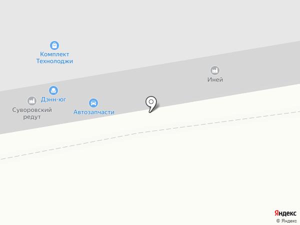 Домашний пекарь на карте Ставрополя