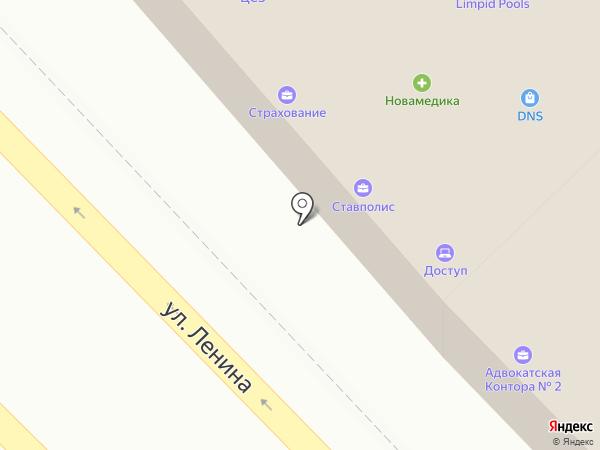 Тур на карте Михайловска