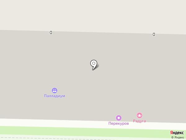 Алмид на карте Ставрополя