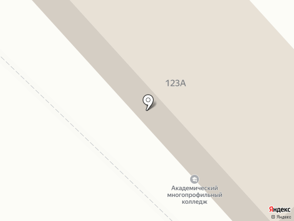 Теремок на карте Михайловска