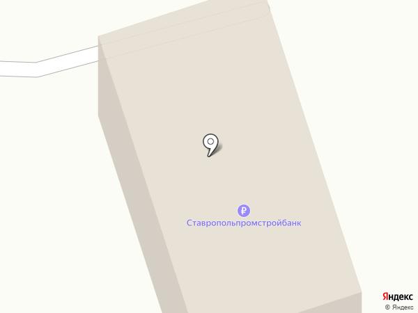 Шпаковскрайгаз на карте Михайловска