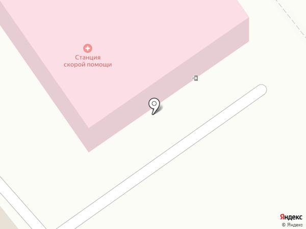 Скорая медицинская помощь на карте Михайловска