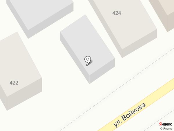 Пивная кружка на карте Михайловска