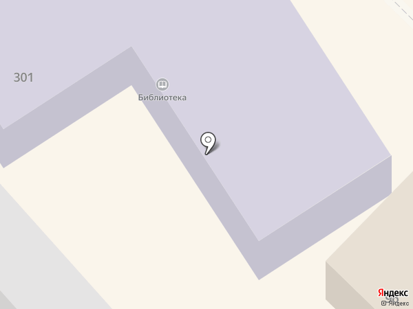 Районная библиотека на карте Михайловска