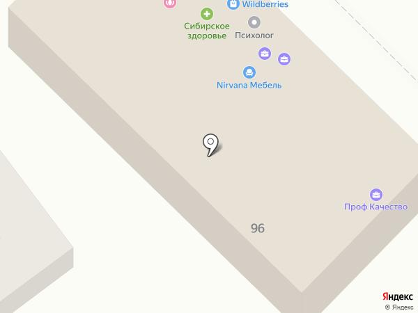 Паутинка на карте Михайловска