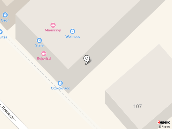Мебельный остров на карте Михайловска