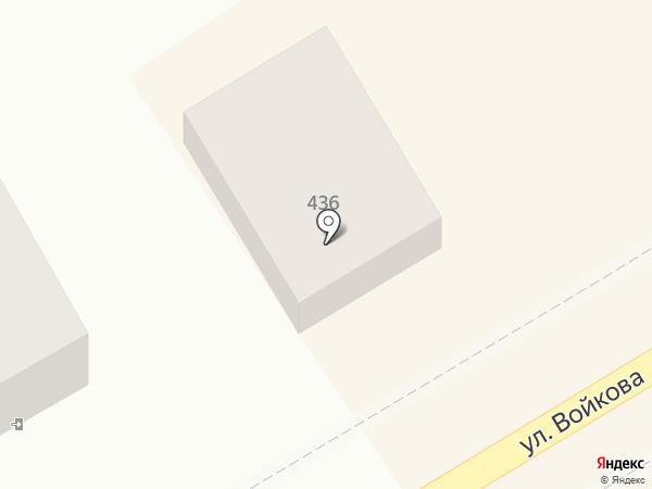Цап-Царап на карте Михайловска
