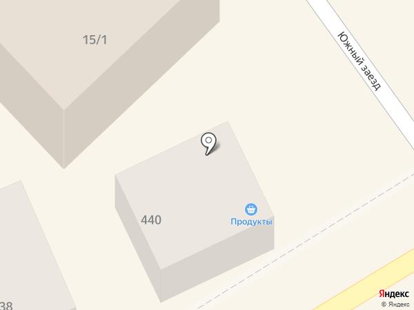 Продуктовый магазин на Южном заезде на карте Михайловска
