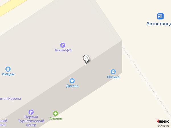 Магазин мебельной фурнитуры на карте Михайловска