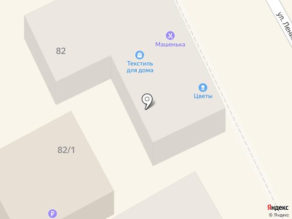 Николь на карте Михайловска
