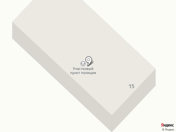 Участковый пункт полиции на карте Дёмино
