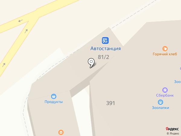 Печать на карте Михайловска