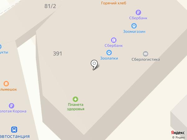 Закрома на карте Михайловска