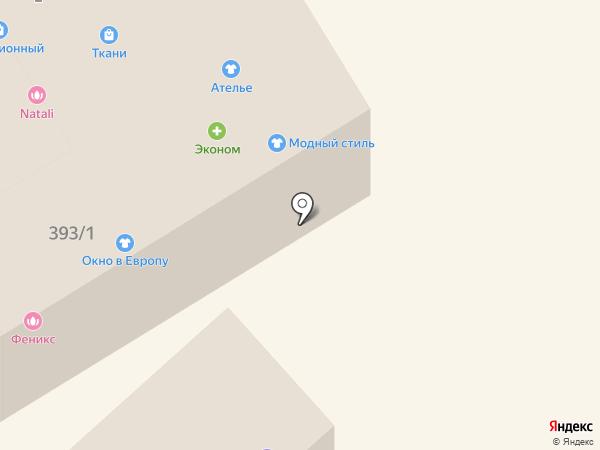 Цифроград на карте Михайловска