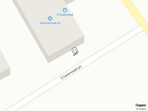 Станичный на карте Михайловска