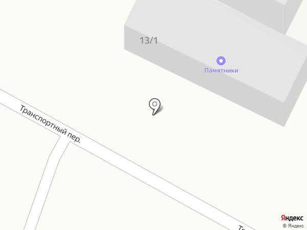 Монумент на карте Михайловска