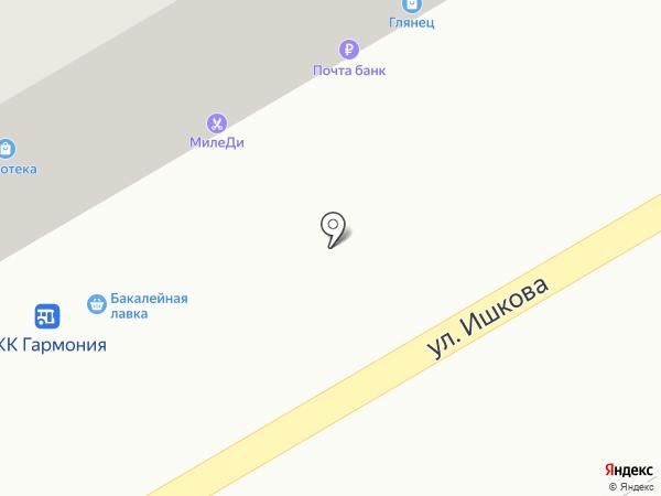 Катюша на карте Михайловска