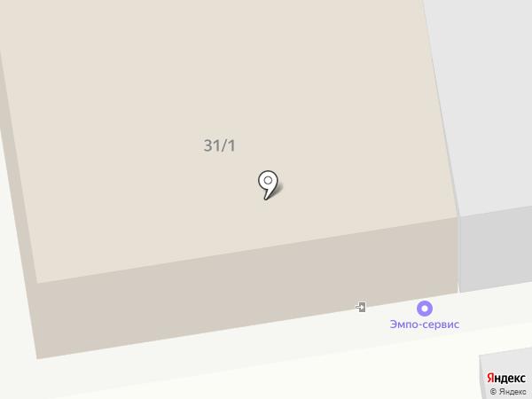 Радуга на карте Ставрополя
