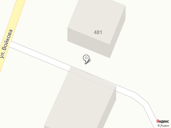Виктория на карте Михайловска