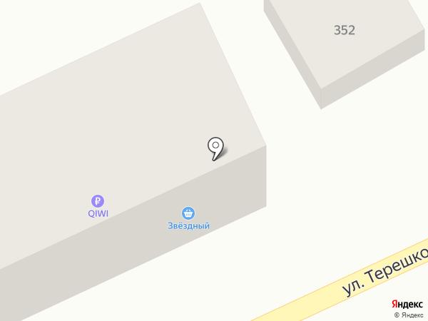 Звёздный на карте Михайловска