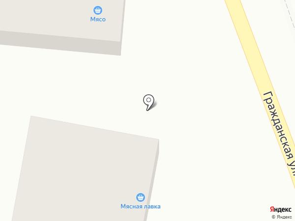 Мясная лавка на карте Михайловска