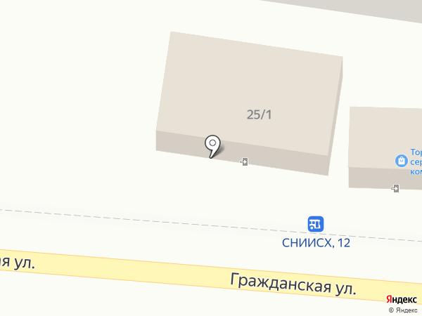 Вишневый на карте Михайловска