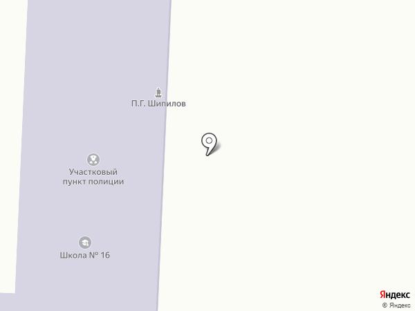 Участковый пункт полиции на карте Дубовки