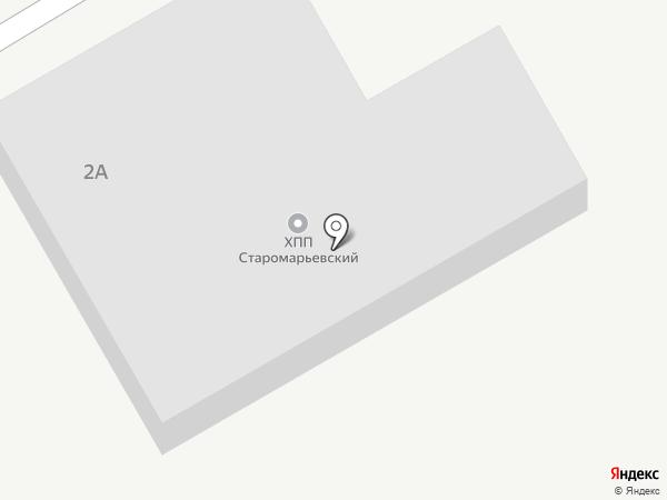 Старомарьевский хлебоприемный пункт на карте Старомарьевки
