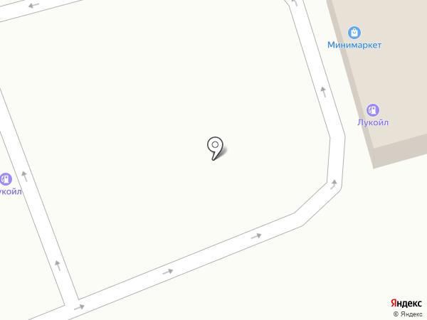 АЗС Лукойл-Югнефтепродукт на карте Старомарьевки