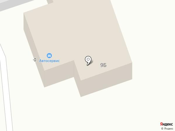 Автосервис на карте Старомарьевки