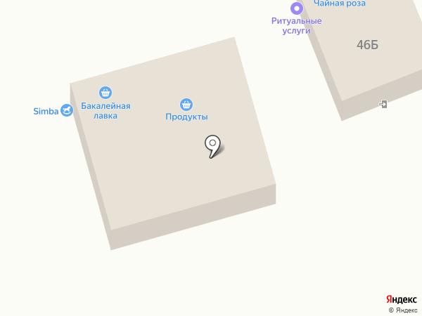 Санги-Стиль на карте Старомарьевки