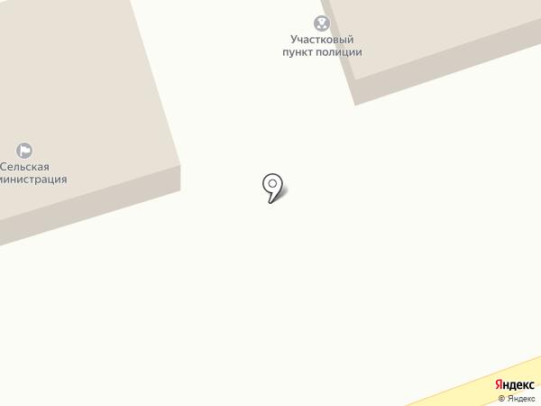 Администрация Старомарьевского сельсовета на карте Старомарьевки