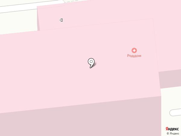 Родильный дом на карте Кисловодска